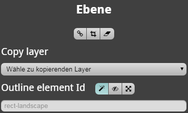 Outline element selection