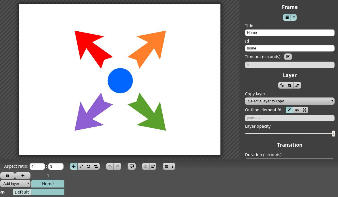 Create a frame for each rectangle