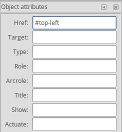 Setting the href attribute of a link